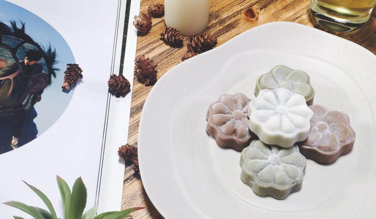 冰皮月饼&柠檬绿茶